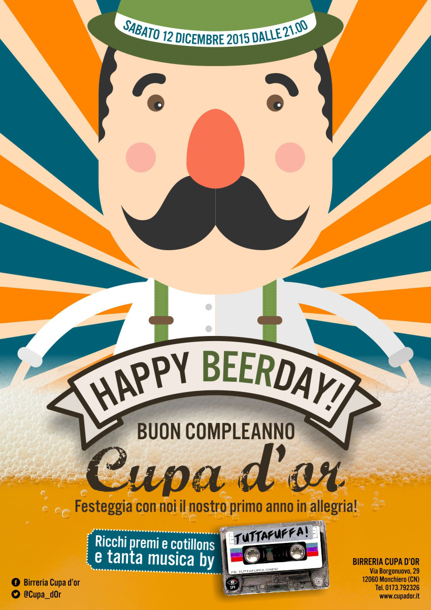 Happy Beerday Cupa d'or!
