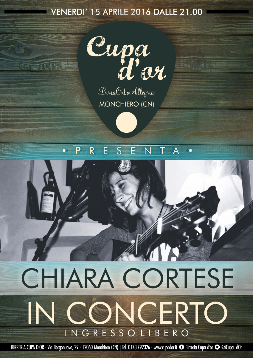 Chiara Cortese in concerto