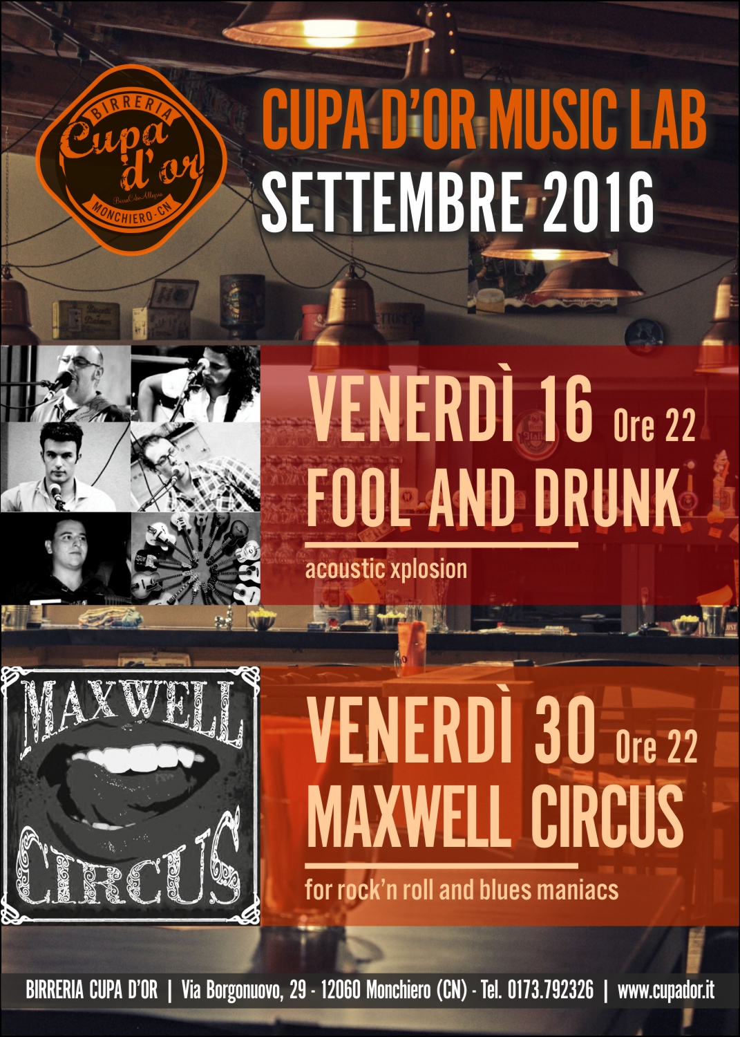 Cupa d'Or Music Lab – Settembre 2016
