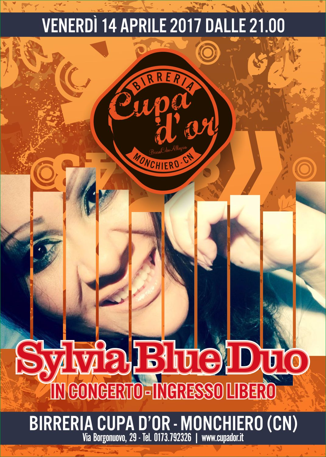 Sylvia Blue duo live alla Cupa D'or