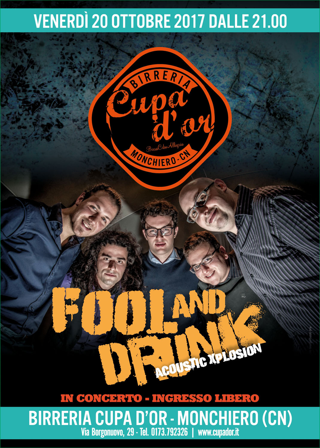 Fool and Drunk live alla Cupa d'or