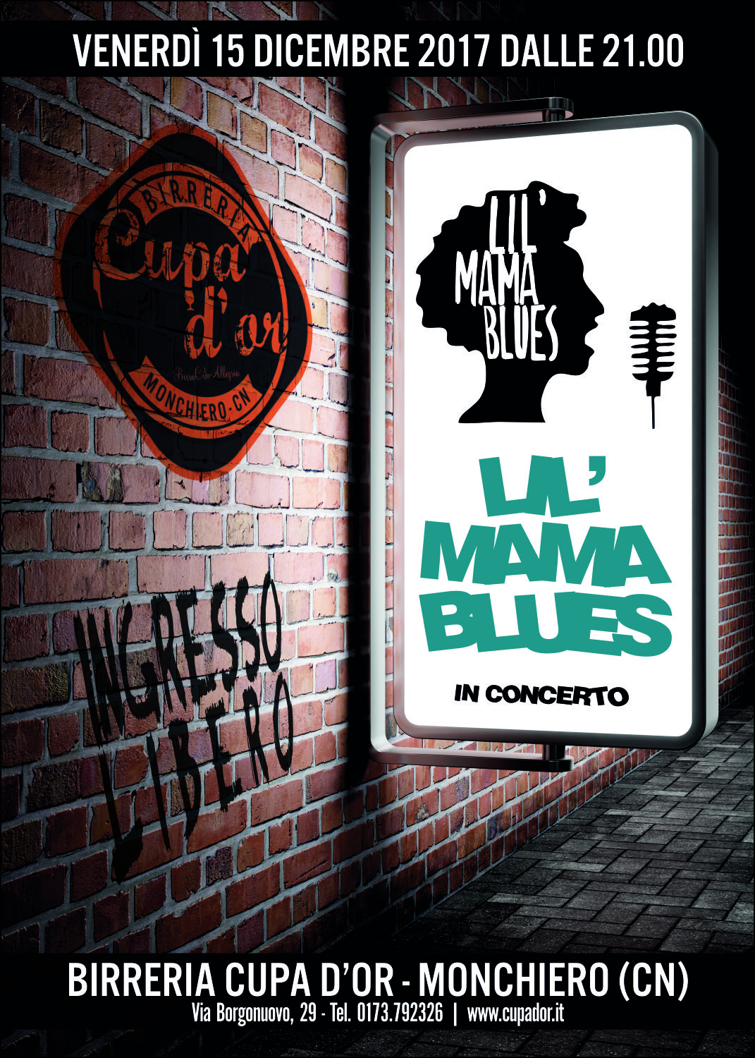 Lil' Mama Blues Live – Cupa d'Or Monchiero